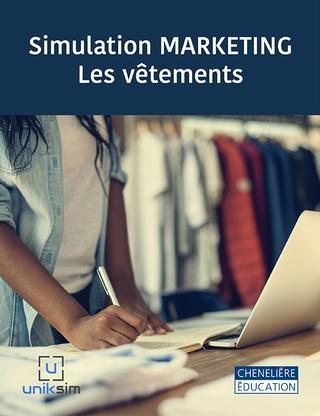La simulation MARKETING – Les vêtements a pour objectif de faire comprendre à l'étudiant le développement de produit et l'ensemble des éléments d'une campagne de mise en marché en recréant avec beaucoup de réalisme le marché concurrentiel de la mode.