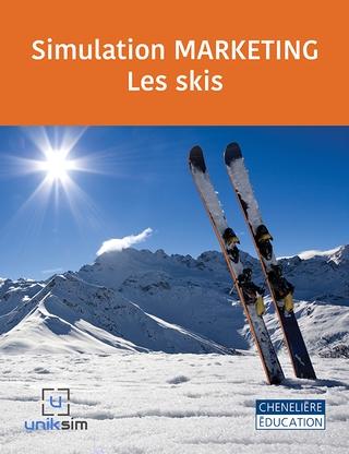 La simulation MARKETING UNIVERSITAIRE – Les skis est un excellent complément à un cours universitaire puisque les étudiants doivent développer des produits et gérer leur commercialisation.
