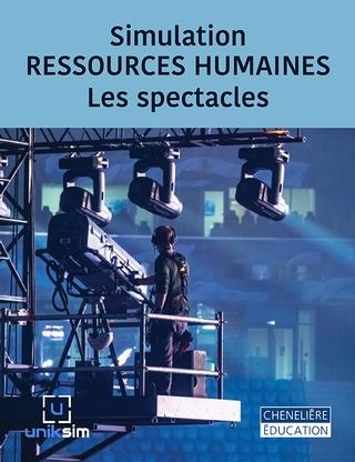 La simulation RESSOURCES HUMAINES - Les spectacles permet à l'étudiants de planifier les besoins en ressources humaines et de prendre les décisions liées au recrutement, à la sélection et à la rémunération globale, et ce, en tenant compte du marché de l'emploi.