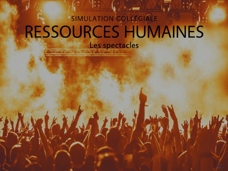 Ressources Humaines - Les spectacles
