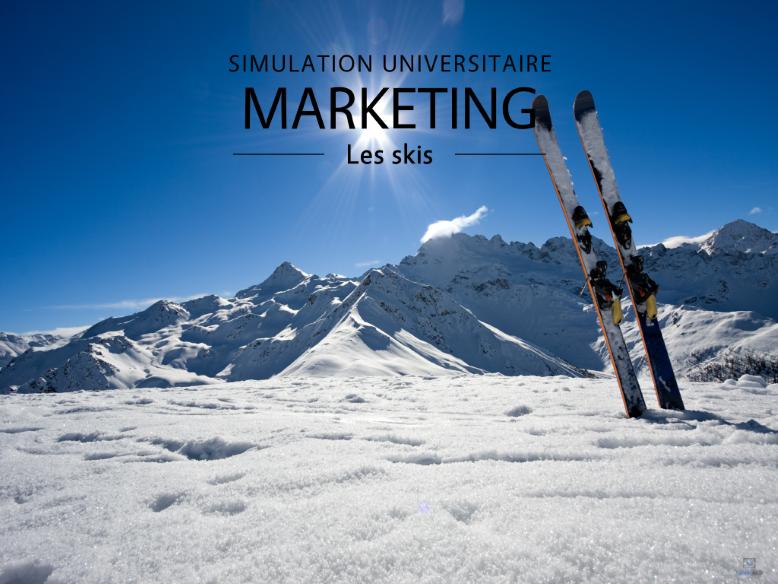 Marketing - Les skis